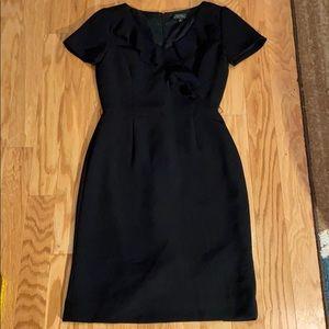 Tahari pencil dress size 2 in black